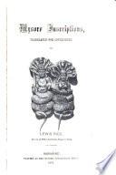 Mysore Inscriptions