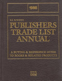 1998 Publishers Trade List Annual