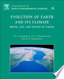 Evolution of Earth and its Climate Book