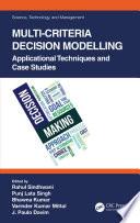 Multi-Criteria Decision Modelling