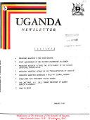 Uganda Newsletter