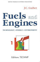 Fuels and Engines Book