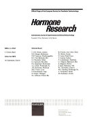 Hormone Research
