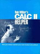 Bob Miller's calc II helper