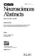 CSA Neurosciences Abstracts