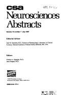 CSA Neurosciences Abstracts