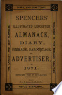 Spencers'Leicester Almanack and Diary