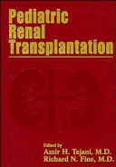 Pediatric Renal Transplantation Book