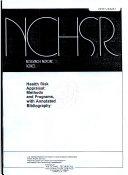 Health Risk Appraisal Book
