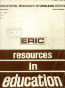 ERIC Resources in Education