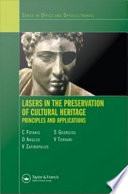 Lasers in the Preservation of Cultural Heritage Book