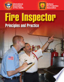 Fire Inspector: Principles and Practice Student Workbook