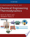 Fundamentals Of Chemical Engineering Thermodynamics Si Edition Book PDF