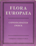 Consolidated Index to Flora Europaea
