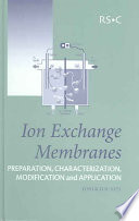 Ion Exchange Membranes