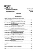 Review of the Electrical Communications Laboratories
