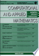 Computation and Applied Mathematics