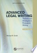 Advanced Legal Writing