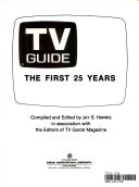 TV Guide  the First 25 Years