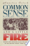 Common Sense and a Little Fire