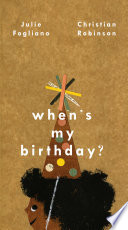 When's My Birthday? Julie Fogliano Cover