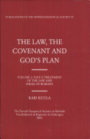 The Law, the Covenant and God's Plan