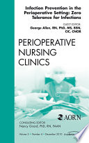 Infection Control Update An Issue Of Perioperative Nursing Clinics