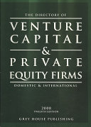 The Directory of Venture Capital   Private Equity Firms 2008