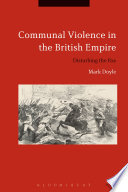 Communal Violence in the British Empire Book