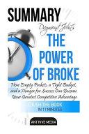 Draymond John and Daniel Paisner s the Power of Broke Summary Book PDF
