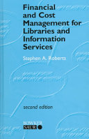 Financial and Cost Management for Libraries and Information Services Book
