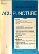 American Journal of Acupuncture Book