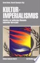 Kulturimperialismus