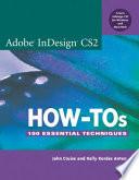 Adobe Indesign Cs2 How Tos
