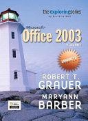 Exploring Microsoft Office 2003 Enhanced Edition  Adhesive