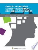 Empathy In A Broader Context Development Mechanisms Remediation Book PDF