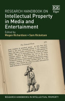 Research Handbook on Intellectual Property in Media and Entertainment Pdf/ePub eBook