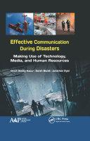 Effective Communication During Disasters Pdf/ePub eBook