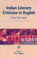 Indian Literary Criticism In English
