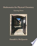 Mathematics for Physical Chemistry Book PDF