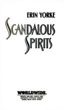 Scandalous Spirits