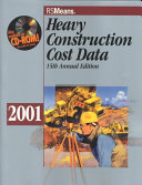 Heavy Construction Cost Data 2001 Book PDF