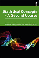 Statistical Concepts   A Second Course