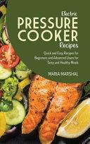 Electric Pressure Cooker Recipes
