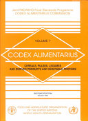 Codex Alimentarius  Cereals  pulses  legumes  and derived products and vegetable proteins