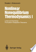 Nonlinear Nonequilibrium Thermodynamics I