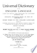 Universal Dictionary of the English Language