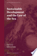Sustainable Development and the Law of the Sea