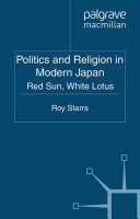 Politics and Religion in Modern Japan Pdf/ePub eBook