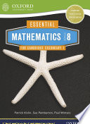 Essential Mathematics for Cambridge Secondary 1  Stage 8